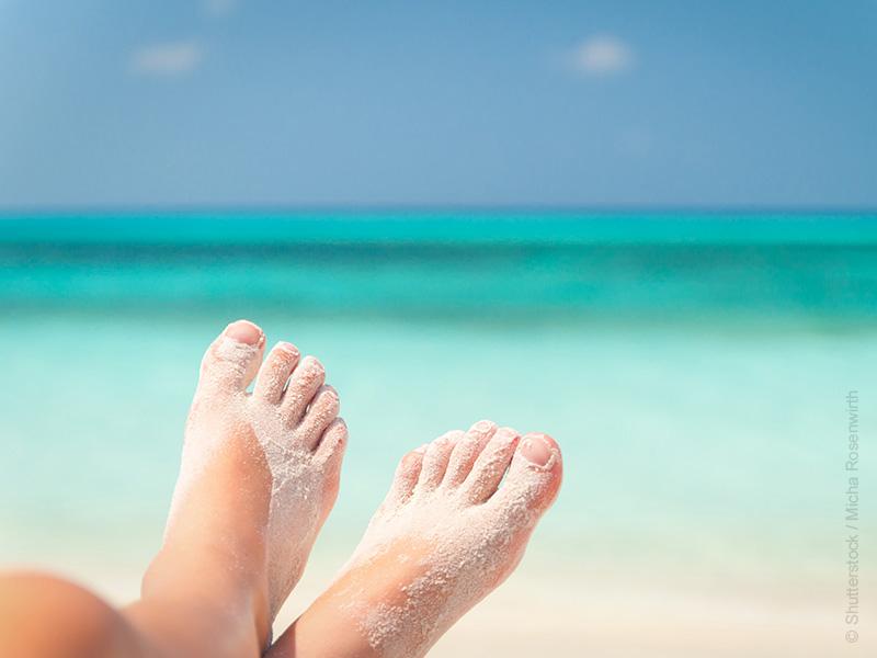 Sommerzeit = Sandalenzeit? Das geht auch gesund!